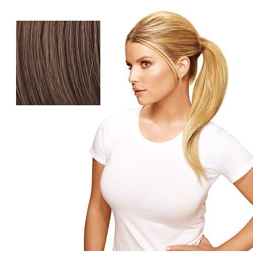 Hairdo 18 inch Simply Straight Pony Tru2Life Heat-Friendly Synthetic Ponytail Ginger - Jessica Blonde Simpson