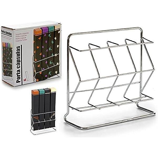 Dream Hogar Soporte Metal Vertical portacapsulas Caja capsula ...