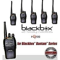 Klein Electronics BANTAMVHF Model BANTAM-VHF Blackbox Bantam VHF 2-Way Radio with Kenwood Connector Jack (Pack of 6); Compact, Rugged, Full Power Radio; 16 Channels; 5 watts/2 watts RF power; Scanning; Voice Channel Enunciation