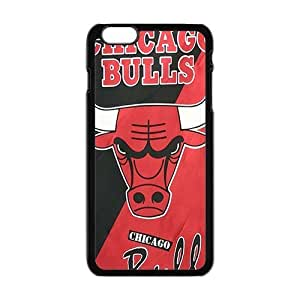 Cool Painting Bulls logo Phone Case For Iphone 6 4.7Inch Cover