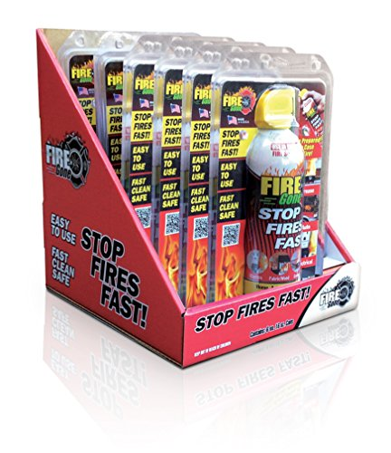 Fire Gone 6ct with POP Display