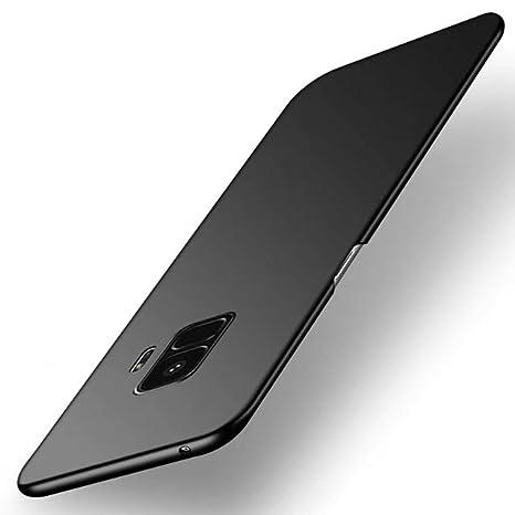 Funda Samsung Galaxy S9 Plus, TIANQIN Ultra-Delgado Carcasa Protectora Ultra Ligera PC Plástico Duro Case Anti-Rasguños Parachoque Estilo Simple para ...