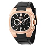Breil Milano Men's BW0309 Eros Analog Black Dial Watch, Watch Central