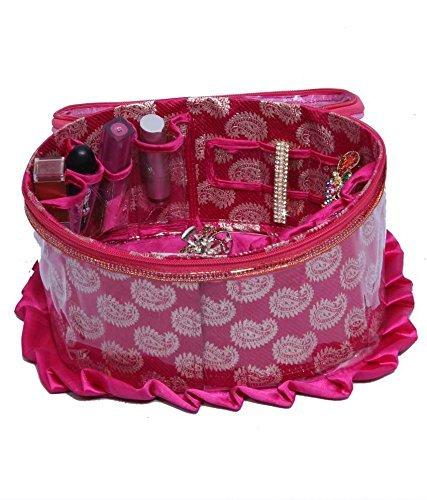 Buy RK Brands Round Satin Pink Complete Bridal Makeupkit