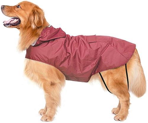 Bwiv Hunde Regenmantel