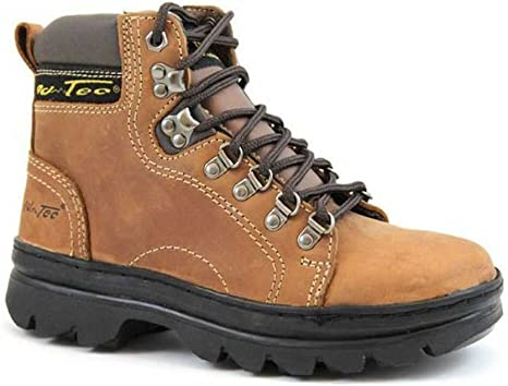 Work Boots Soft Toe Brown 2987