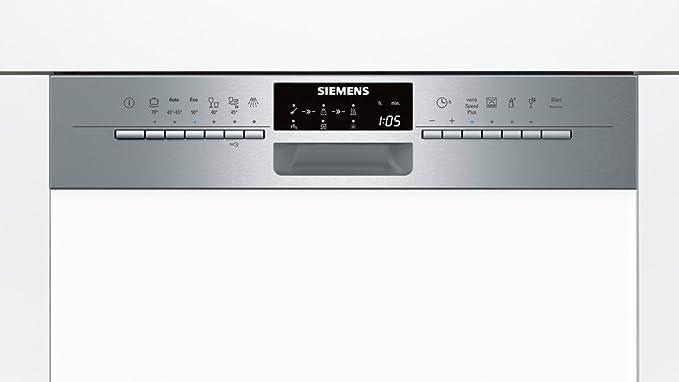 Siemens SN56P592EU lavavajilla - Lavavajillas (Semi-incorporado ...