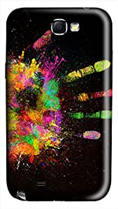 CaseandHome Artist Hand PC Material Hard Case For Samsung Galaxy N7100