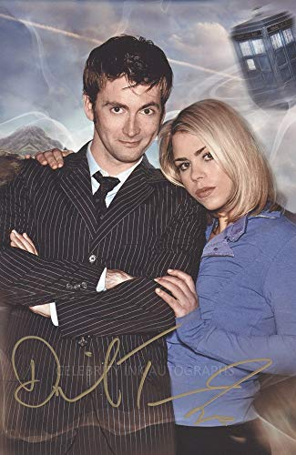 """DAVID TENNANT as The 10th Doctor - Doctor Who - 8""""x12"""" GENUINE AUTOGRAPH"""