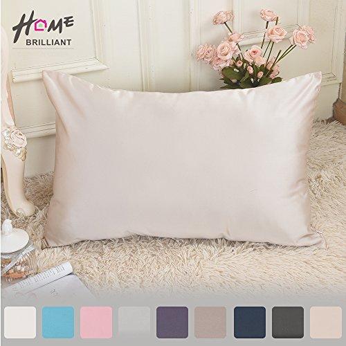 Luxury Pillowcase Sleeping Stain Wrinkle Closure Standard