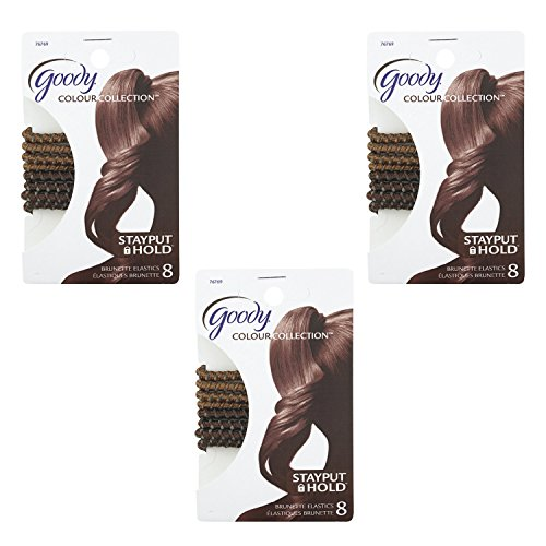 goody-colour-collection-sparkly-metallic-hair-elastic-stay-put-hold-brunette-8-count-pack-of-3