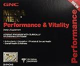 GNC Mega Men Performance & Vitality Vitapak Program 30 Paks - New by GNC