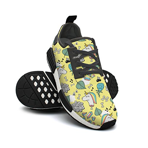 Flowers Jogging Unicorns Yellow Autumn Nmd Shoes Leaves Gym Workout Womens pnt0gq0w4