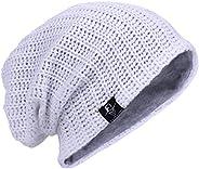 JESSE · RENA Men Beanie Hat Knit Slouchy Baggy Skull Cap CFB306