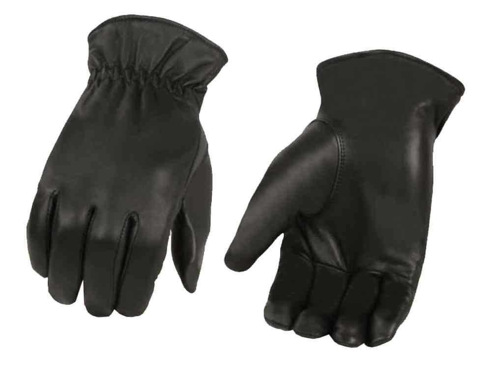 Men's winter very soft genuine leather gloves with, Premium quality soft leather with warm 40 gram Thinsulate insulation, warm thick fleece lining, Wrist elastic for comfortable fit and air flow stop by Shaf Leather (M) Shaf International SH734-M