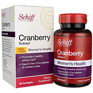 Schiff Natural Cranberry Extract - Extra Strength -- 90 Softgels