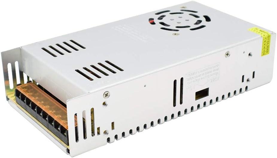 DC 24V Fuente de Alimentación Conmutada AC 110V / 220V a 24V 15A 360W Convertidor de Conmutación para Tiras de LED, Cámara CCTV