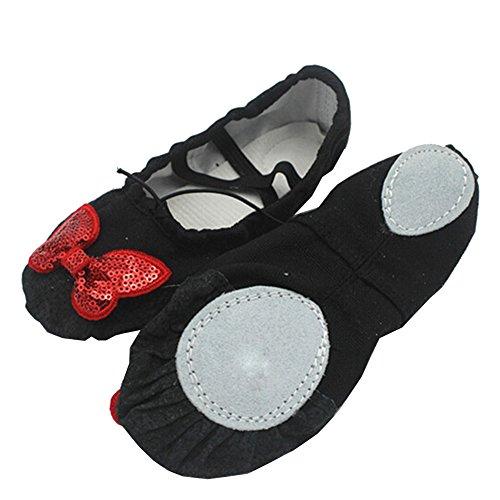 Lisianthus002 - Zapatillas de danza de Lona para niña multicolor - F