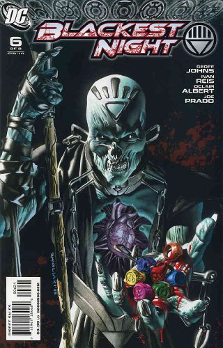 Blackest Night #6A VF/NM ; DC comic book