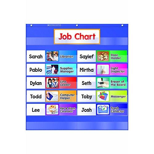 UPC 078073114801, Class Jobs Pocket Chart
