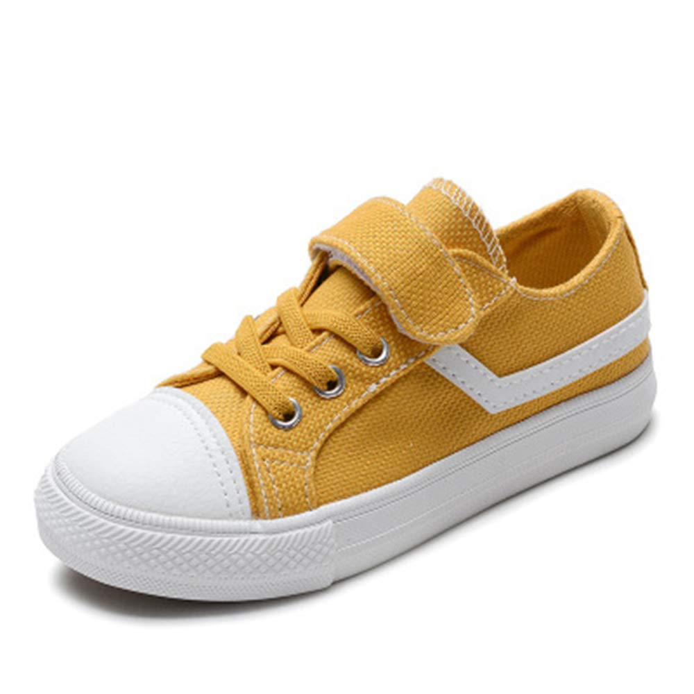 cici shoes Classic Kids Casual Comfort Zipper Lace up High Top Canvas Shoes Toddler//Little Kid//Big Kid