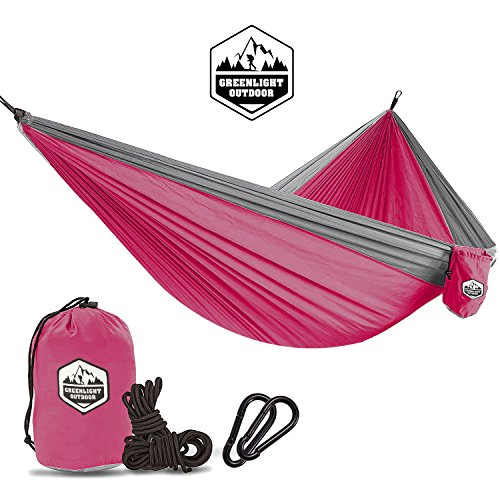 Double & Single Camping Hammock - Portable Lightweight Parac