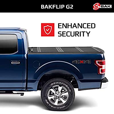 "BAK BAKFlip G2 Hard Folding Truck Bed Tonneau Cover | 226309 | Fits 2004-14 Ford F150 5'6"" Bed: Automotive"