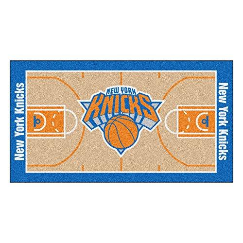 FANMATS NBA New York Knicks Nylon Face NBA Court Runner-Small