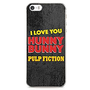 Loud Universe Honey Bunny Quote iPhone 5 / 5s Case PULP Fiction Style iPhone 5 / 5s Cover with Transparent Edges
