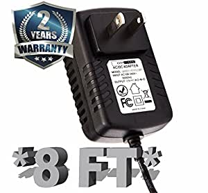 12 Volt 1 Amp Power Supply, AC to DC, 2.5mm X 5.5mm Plug, Regulated UL 12v 1a Power Adapter Wall Plug