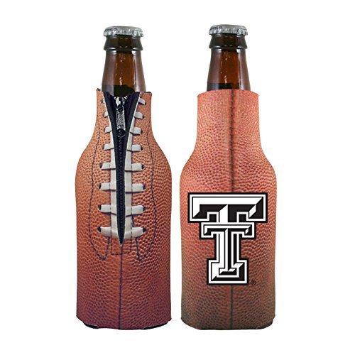 Texas Tech Red Raiders Ice (NCAA College 2014 Team Logo Football Look Bottle Coolie Holder Koozie Cooler 2-Pack (Texas Tech Red Raiders))