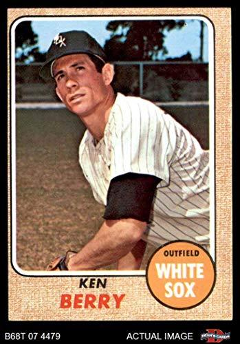 1968 Topps # 485 Ken Berry Chicago White Sox (Baseball Card) Dean's Cards 4 - VG/EX White Sox