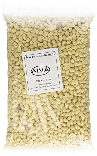 Box Peanut (Raw, Blanched Peanuts - 5 lb. Box)