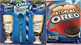 Oreo Milkshake Gift Set Bundle - Includes 2 Ceramic Cups, Ice Cream Scoop, 2 Straws and 4 Oreo Cookies,Oreo, Hot Cocoa, 8.5-Ounce Box. This is A Great Gift Set For the Holidays.