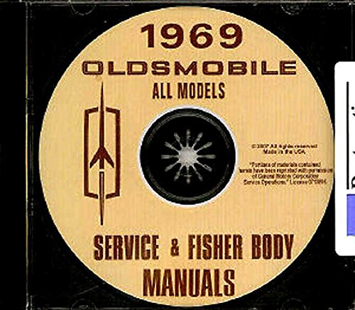 A MUST HAVE MANUAL FOR OWNERS, MECHANICS & RESTORERS - 1969 OLDSMOBILE REPAIR SHOP & SERVICE MANUAL CD - COVERS: F-85, Cutlass, Cutlass Supreme, 442, Vista-Cruiser, Delta 88, Custom 88, Royale 88, Delta Cruiser, 98, Ninety Eight Luxury, Deluxe