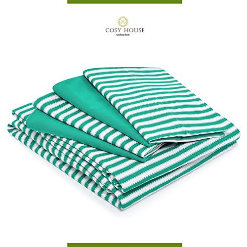 Cosy House Sheets 6 Piece Stripes