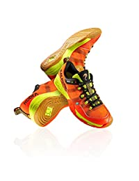 Salming Kobra Magma Red / Black Indoor Court Shoes - size 14