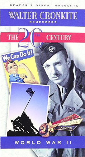 Walter Cronkite Remembers the 20th Century: World War II (VHS: 51 Minutes)