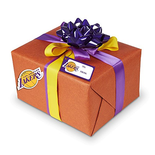 allstarpaperz Hoopz - Basketball Wrapping Paper - Embossed Paper Looks and Feels Like a Real Basketball for $<!--$7.95-->