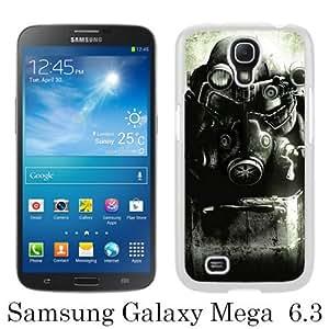 Fallout Enclave Armor White Fashion Design Customized Picture Samsung Galaxy Mega 6.3 Case