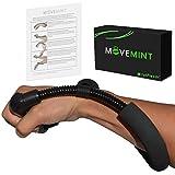 Cheap MOVEMINT WristFlexor w/Instructions | Forearm Strengthener & Wrist Exerciser Extensor Toner (Black)