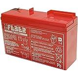 Feber - 800003103 - Vélo et Véhicule pour Enfant- Batterie 6 V - 10 Ah