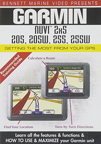 - Garmin Nuvi 2x5 Series: 205, 205W, 255, 255W - Getting the Most From Your GPS