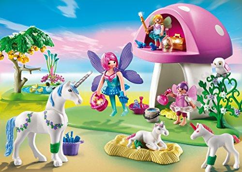playmobil 6055 centre de soins pour licornes amazonfr jeux et jouets