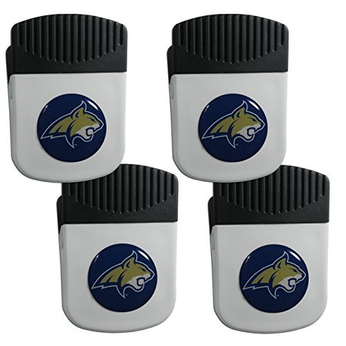 State Opener Montana Bottle (Siskiyou NCAA Montana State Bobcats Clip Magnet with Bottle Opener, 4 Pack)
