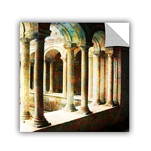 "picture of ArtWall Elana Ray's Roman Architecture Appealz Removable Graphic Wall Art, 36 x 36"", Multicolor"