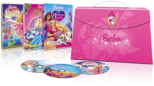 Barbie Princess Collection (Barbie & The Diamond Castle/ Barbie as The Island Princess/ Barbie in The 12 Dancing Princesses)