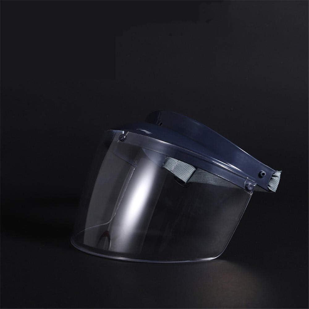 antiara/ñazos m/áscara Protectora de luz con Visera protecci/ón Facial con Pantalla Transparente LMWB Visera Protectora antisaliva-p/úrpura