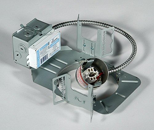 (Lightolier S6132BU Non-IC 6 Inch Frame-In Kit 120 - 277 Volt 26/32 Watt Triple Tube CFL Calculite)