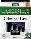 Criminal Law, Gilbert Law Summaries Staff, 015900196X
